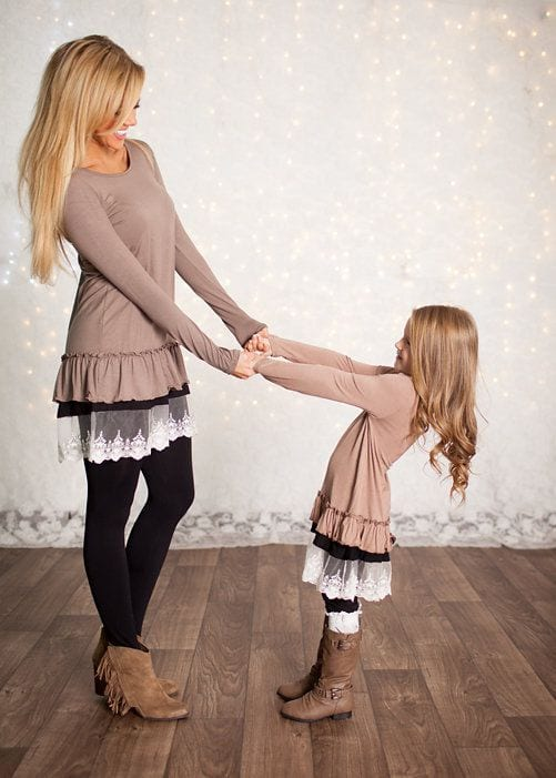00000000000000000 100 Cutest Matching Mother Daughter Outfits on Internet So Far