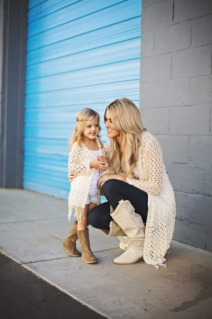 000000000000000000000 100 Cutest Matching Mother Daughter Outfits on Internet So Far
