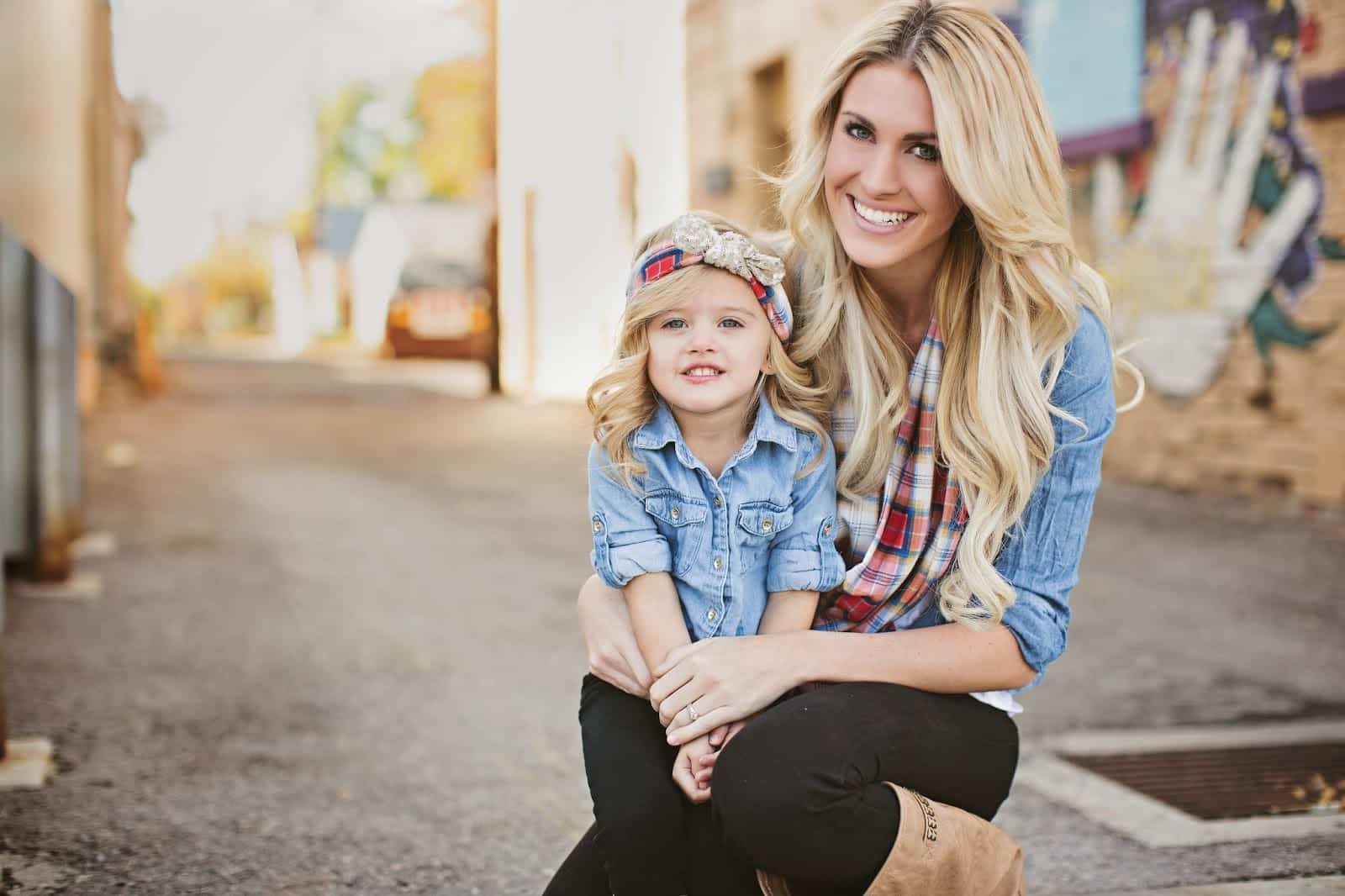 0C6A0450 100 Cutest Matching Mother Daughter Outfits on Internet So Far