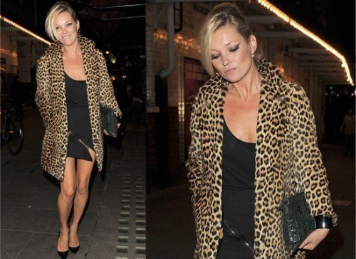 10e6ae22e0667d21_katemoss-500x364 Outfits with Leopard coats-20 Ideas to Style Leopard Print Coats