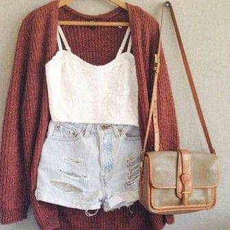 High waisted short outfits for girls 6
