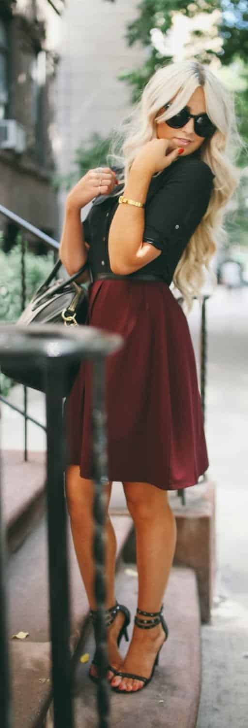 22 25 Cute Outfits for Curly Hair Women for Glamorous Look