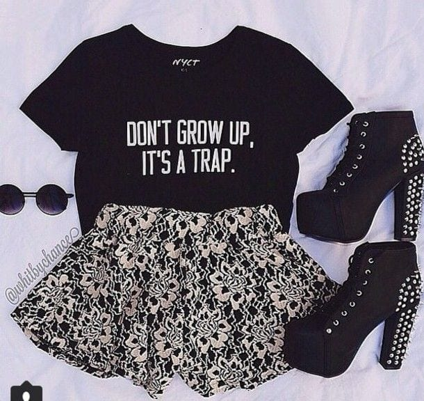 funky t shirt ideas for girls (20)