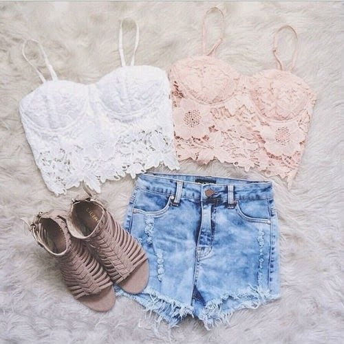 High waisted short outfits for girls 12