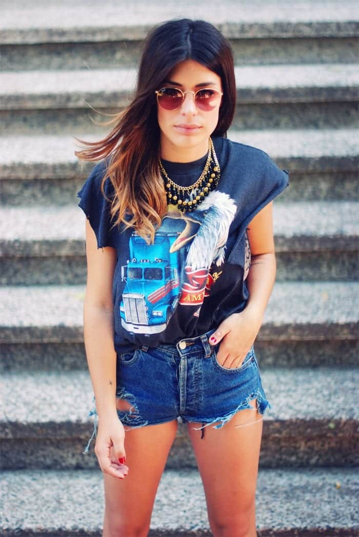 funky t shirt ideas for girls (24)