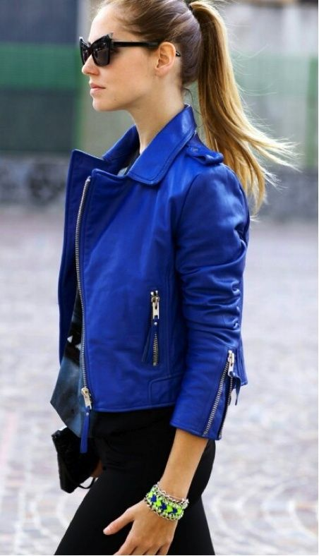leather jacket outfits for girls (17)