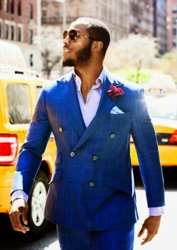 Full-Beard-with-Mustache-for-Black-Men-353x500 Latest Beard Styles for Black Men - 30 Hottest Facial Hair Styles to Try