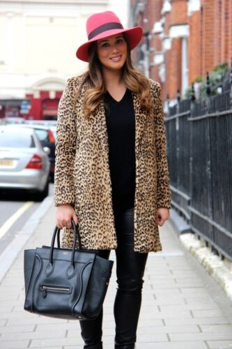 IMG_6744-609x914-1-333x500 Outfits with Leopard coats-20 Ideas to Style Leopard Print Coats