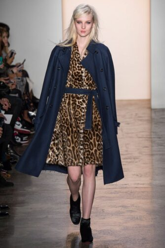 Peter-Som-Fall-Winter-2014-2015-New-Womens-Clothing-Styles-2-334x500 Outfits with Leopard coats-20 Ideas to Style Leopard Print Coats