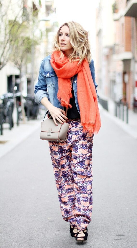 Yerse-printed-pants-fashion-blogger-barcelona-42-568x1024 Printed Pants Outfits-17 Ideas On How To Wear Printed Pants