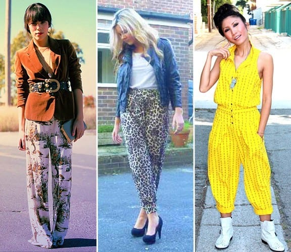 bloggers-10-14 Printed Pants Outfits-17 Ideas On How To Wear Printed Pants