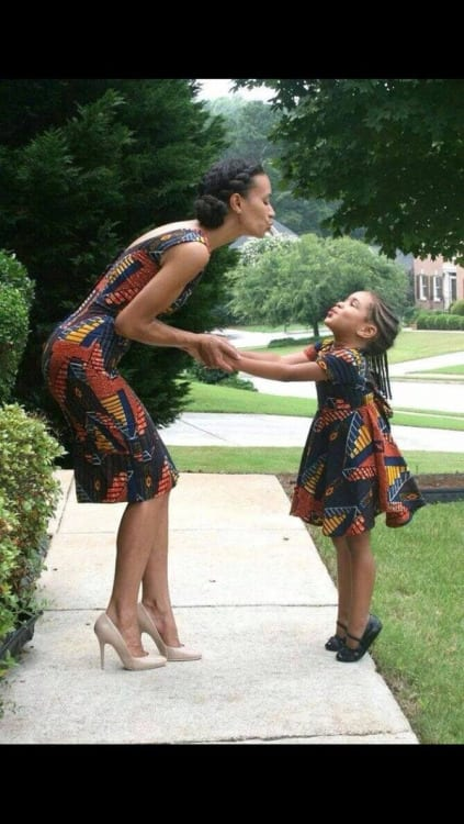c 100 Cutest Matching Mother Daughter Outfits on Internet So Far