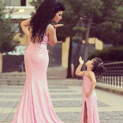 ccc 100 Cutest Matching Mother Daughter Outfits on Internet So Far