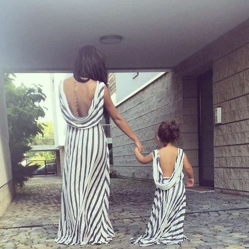 ccc1 100 Cutest Matching Mother Daughter Outfits on Internet So Far