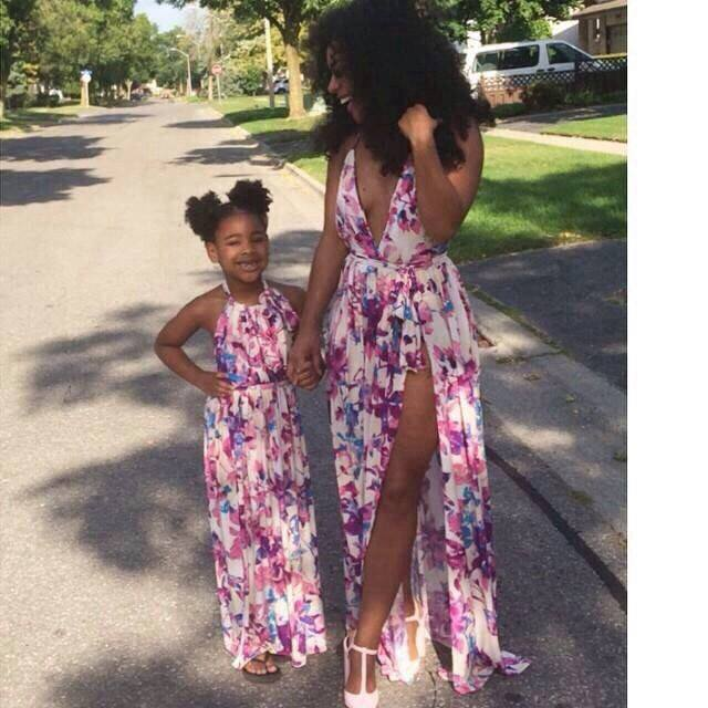 ccccccc 100 Cutest Matching Mother Daughter Outfits on Internet So Far