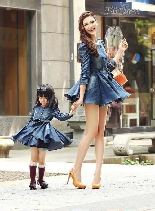 cccccccc 100 Cutest Matching Mother Daughter Outfits on Internet So Far