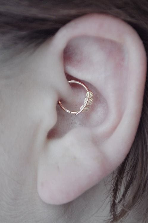 daith Cartilage Piercings Guide - Every Thing You Need to Know About it