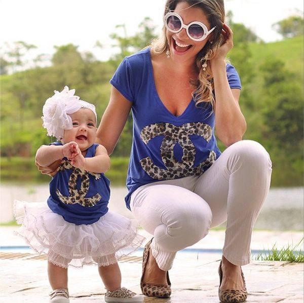 eeeeeeeeeeeeeeeeeeeee 100 Cutest Matching Mother Daughter Outfits on Internet So Far