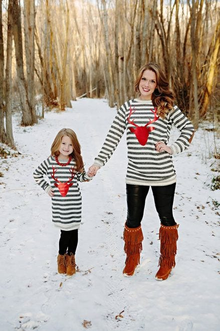 Matching Mother Daughter Christmas Dresses Source · 40 Adorable Christmas Outfits for Mother and Daughter Duo matching dresses