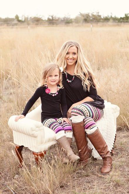 fffffffffffff 100 Cutest Matching Mother Daughter Outfits on Internet So Far