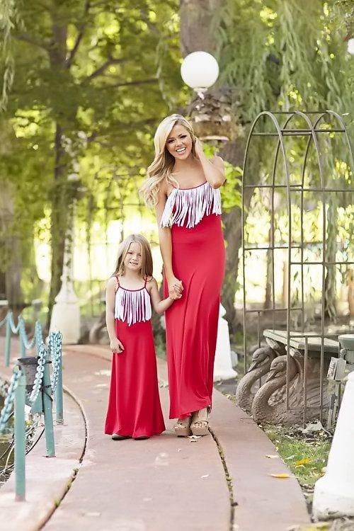 fffffffffffffff 100 Cutest Matching Mother Daughter Outfits on Internet So Far