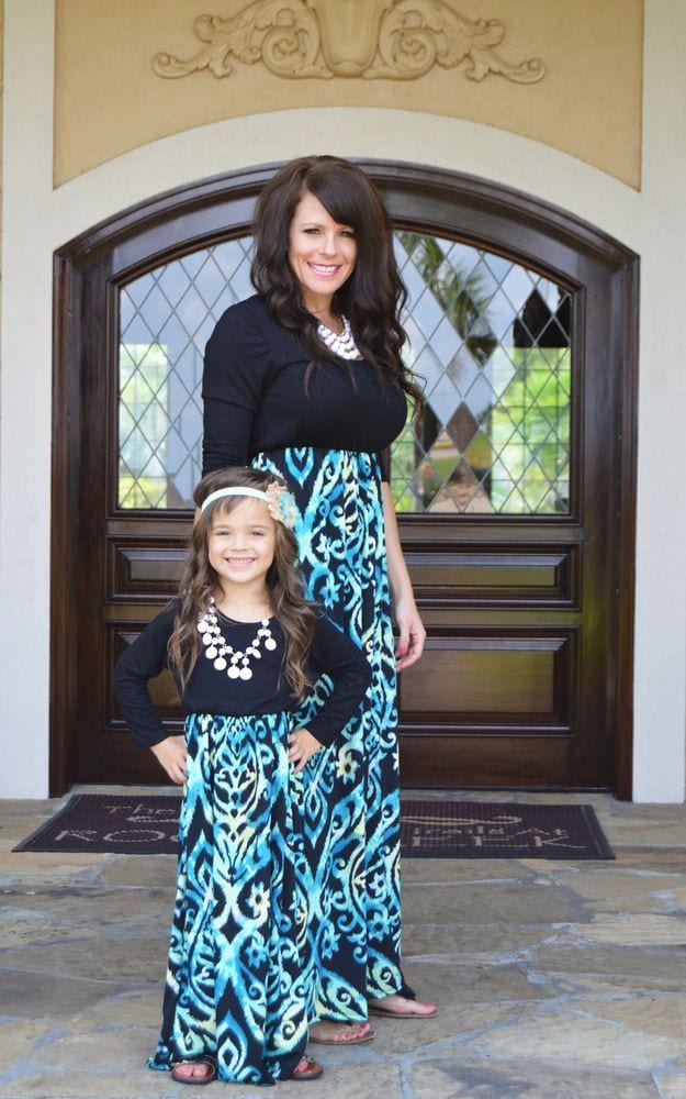 ffffffffffffffffff 100 Cutest Matching Mother Daughter Outfits on Internet So Far