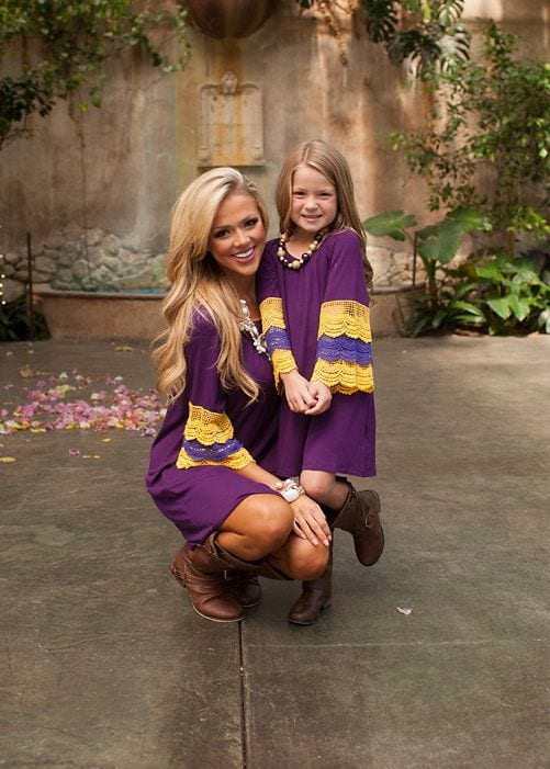 ffffffffffffffffffffffffff 100 Cutest Matching Mother Daughter Outfits on Internet So Far
