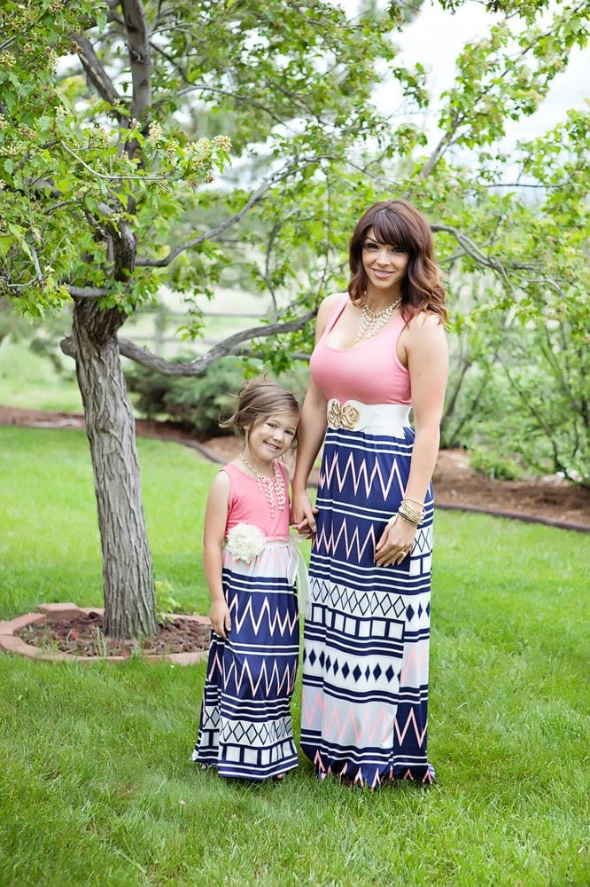 ffffffffffffffffffffffffffff 100 Cutest Matching Mother Daughter Outfits on Internet So Far