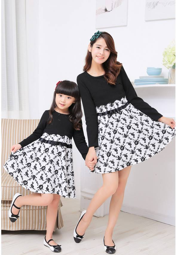 hhhhhhh 100 Cutest Matching Mother Daughter Outfits on Internet So Far