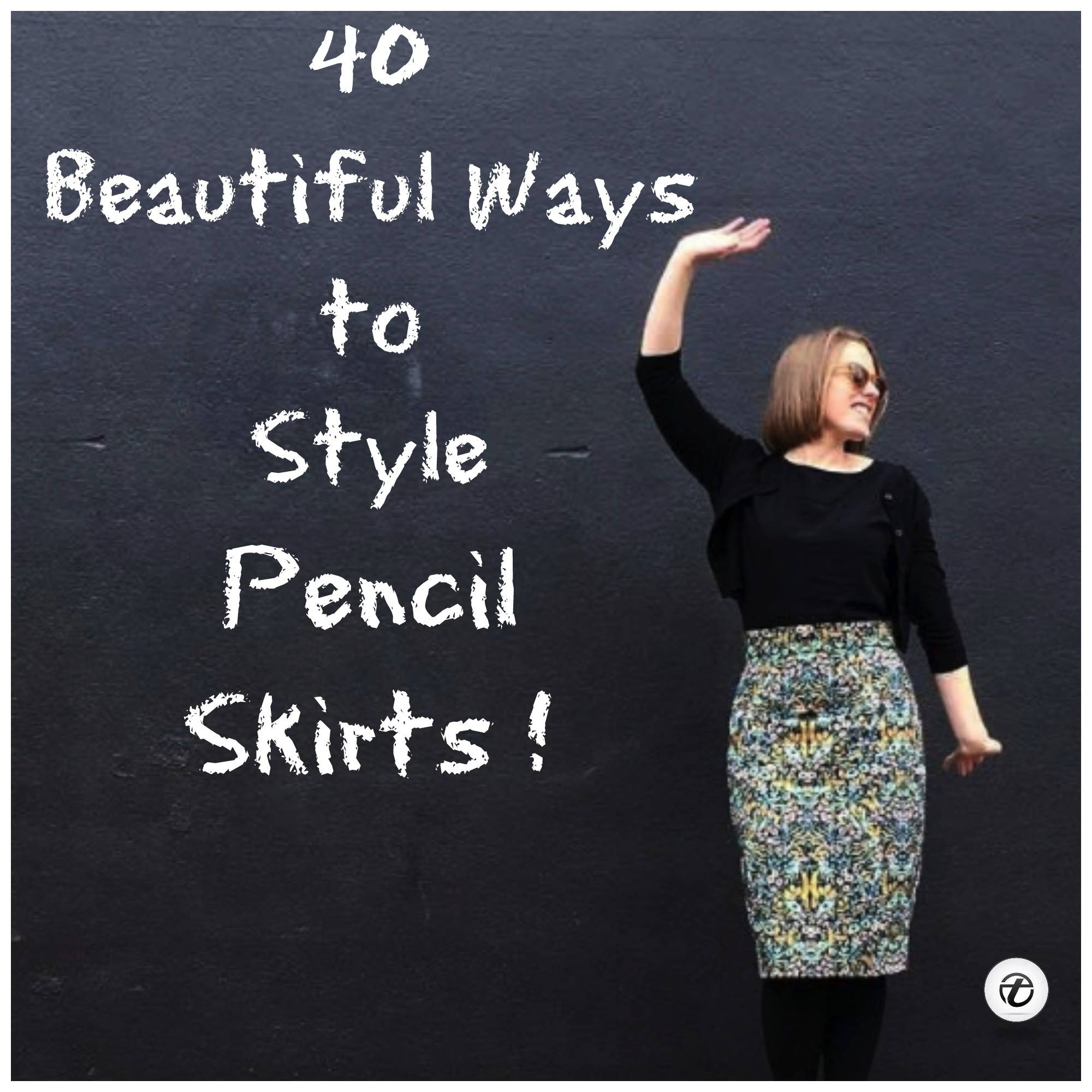 how-to-wear-pencil-skirts Outfits with Pencil Skirt-40 Best Ways to Wear Pencil Skirts