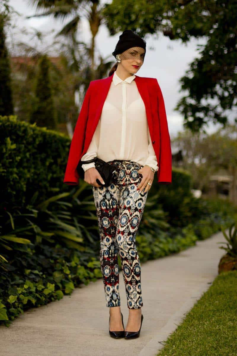 Printed Pants Outfits- 17 Ideas On How To Wear Printed Pants