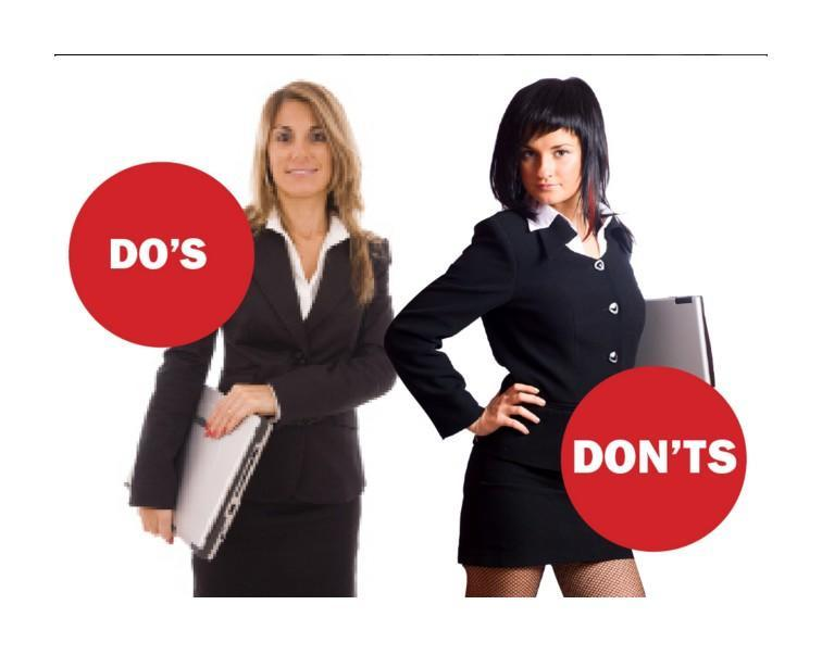 job-interview-dos-and-donts-3 How to Dress Up for Job Interview? 10 Best Outfits for Women