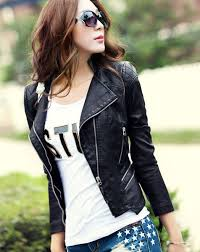 leather jacket outfits for girls