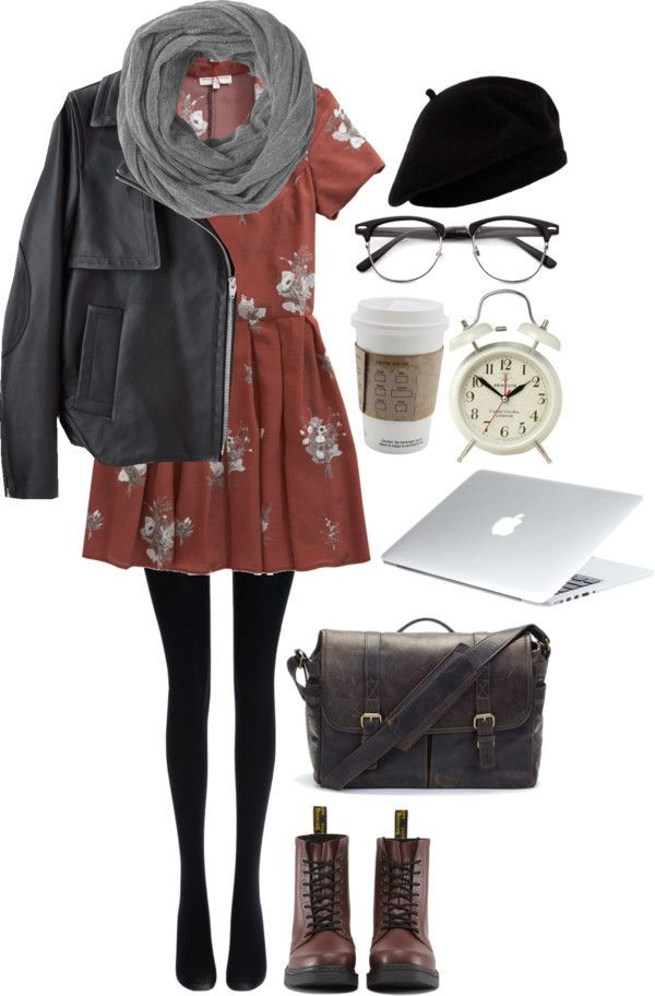 leather jacket outfits for girls (6)
