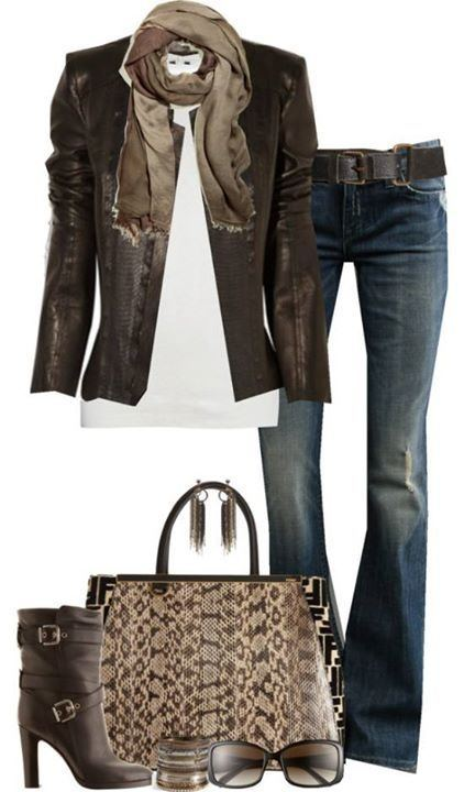 leather-jackets-9-1 Outfits with Leather Jacket-19 Ways to Style Leather Jacket