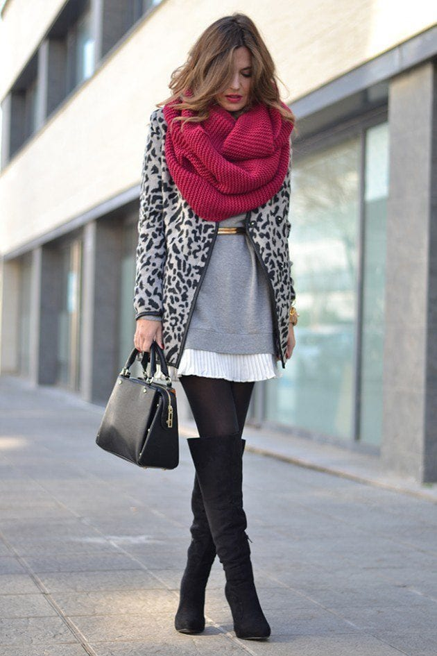 leoparprintcoat_2-630x945-2 Outfits with Leopard coats-20 Ideas to Style Leopard Print Coats