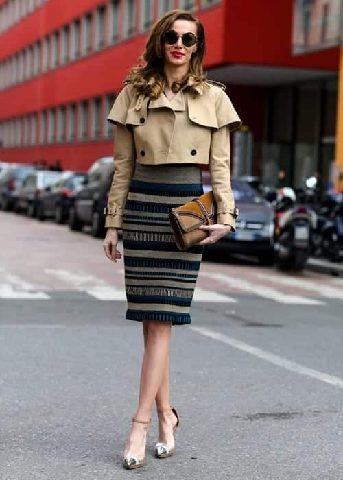 pencil skirt outfit ideas 14