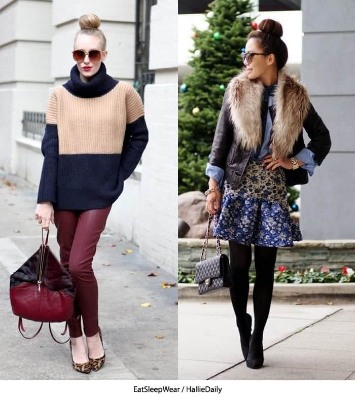 mini196 20 Cute Outfits with Top Bun Hairstyle to Compliment Style