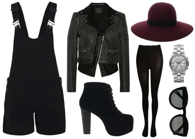 paige-denim-shortalls-black-punk-goth-leather-jacket-boots-outfit