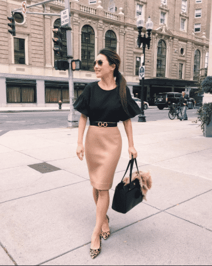 pencil-skirt-outfit-for-work Outfits with Pencil Skirt-40 Best Ways to Wear Pencil Skirts