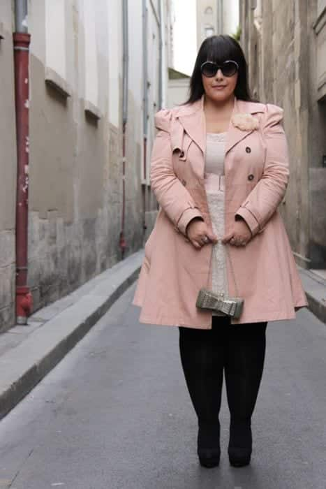20 Pink Outfit Ideas for Plus Size Women for Chic Look