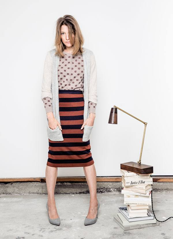 skirt Outfits with Pencil Skirt-40 Best Ways to Wear Pencil Skirts