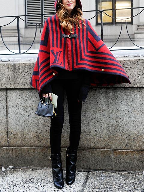 tc12 Cape Outfit Ideas - 25 Stylish Ways to Wear Cape Fashionably