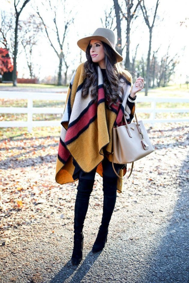 Cape Outfit Ideas – 25 Stylish Ways to Wear Cape Fashionably