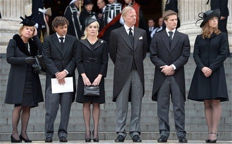 thatcher-funeral-f_2538871c What to Wear to a Funeral - 14 Proper Funeral Men Attire