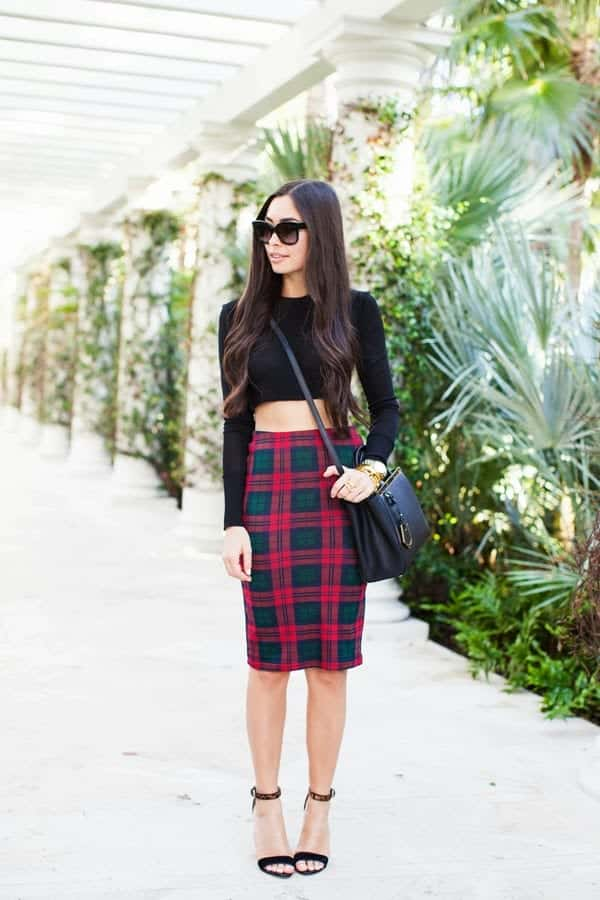 pencil skirt outfit ideas 3