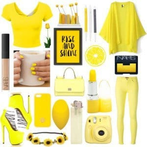 Pantone Color Inspired outfits (9)