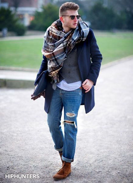 Men Ripped Jeans Outfits (9)