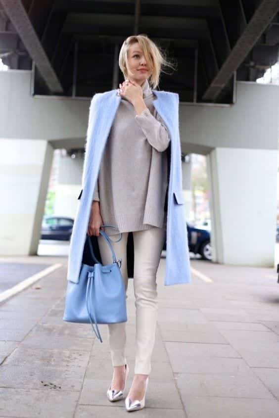17-2 2018 Pantone Color Inspired Outfit Ideas For Women