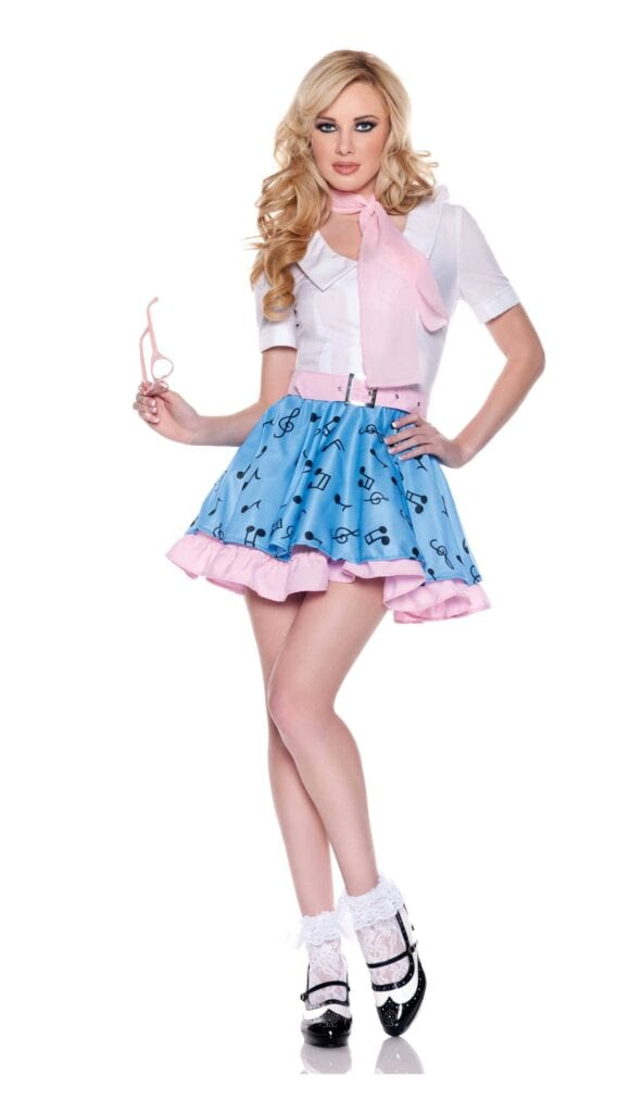 photos of single girls 50's outfits № 142976